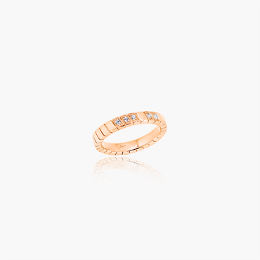 Rockstar Blaze Wedding Ring (Diamonds, 18K Solid Gold)
