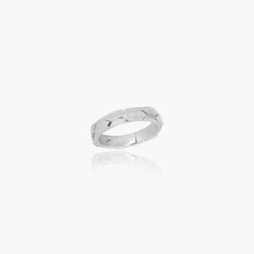 Rockstar Charm Wedding Ring (9K Solid Gold)