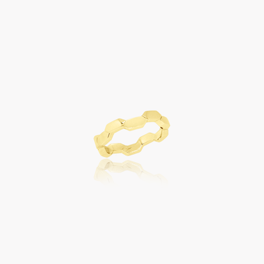 Rockstar Magic Wedding Ring (18K Solid Gold)