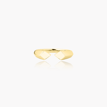 Rockstar Synth Unisex Ring <br>(No Diamonds, 9K Solid Gold)