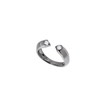 Rockstar Bass Unisex Ring (Semi-Diamond, 18K Solid Gold)