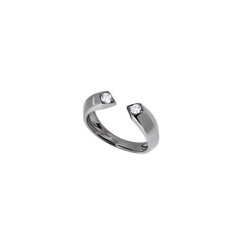 Rockstar Bass Unisex Ring (Semi-Diamond, 9K Solid Gold)