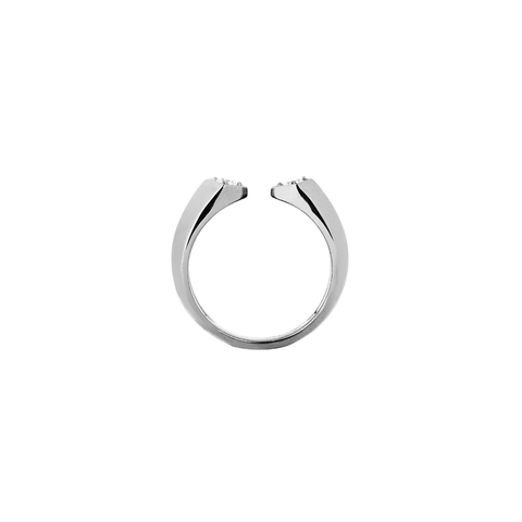 Rockstar Bass Unisex Ring<br> (Semi-Diamond, 18K Solid Gold)