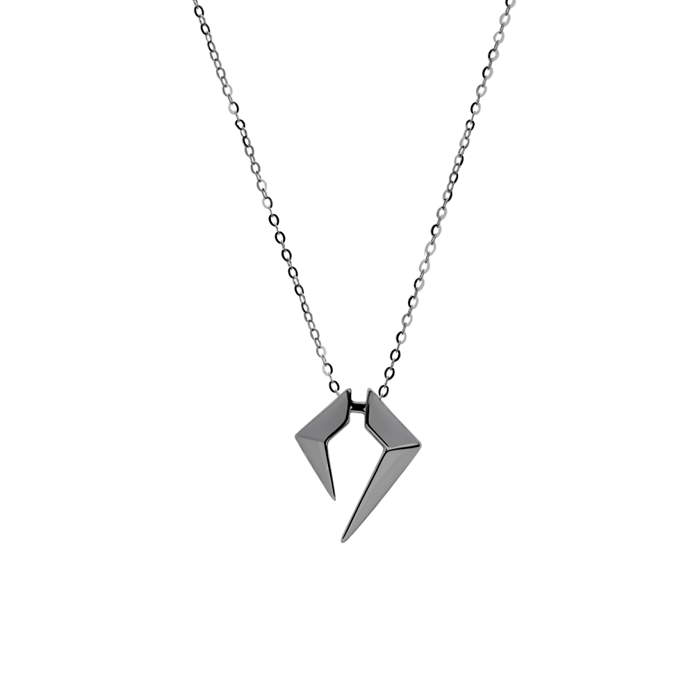 Rockstar Encore Unisex Necklace (No Diamonds, 9K Solid Gold)