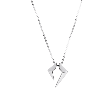 Rockstar Encore Unisex Necklace (No Diamonds, 18K Solid Gold)