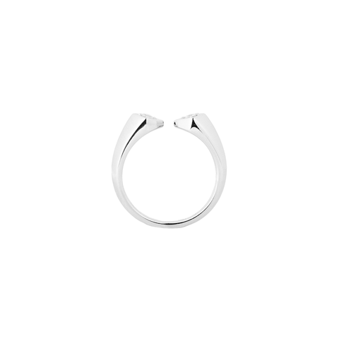 Rockstar Synth Unisex Ring <br>(Semi-Diamond, 18K Solid Gold)