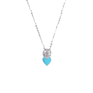 Artist Tulip Necklace (Full Diamond)