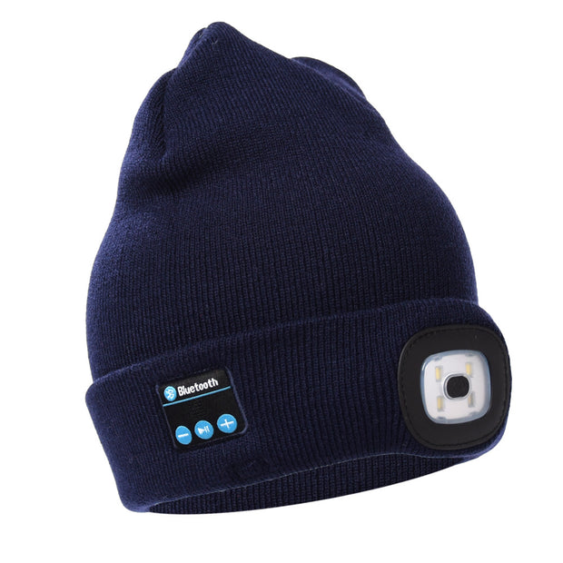 Bluetooth LED Hat Wireless Smart Cap Headset Headphone