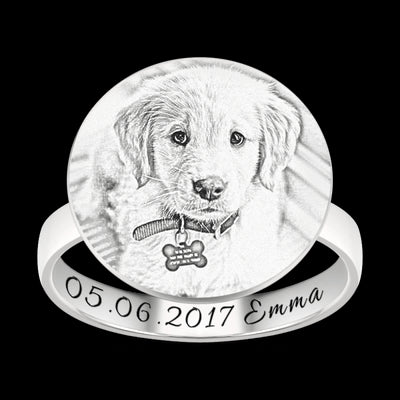 Customize Pet Rings for Pet Lovers