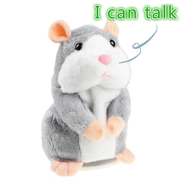 Talking Hamster Educational Toy - Smart Choice Gears