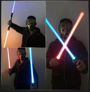 Heavy Dueling Metal Handle RGB 12 Colors Lightsaber Sword