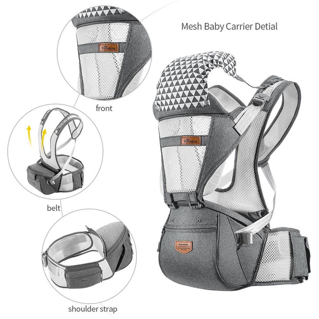 Professional Ergonomic Baby Carrier - Smart Choice Gears