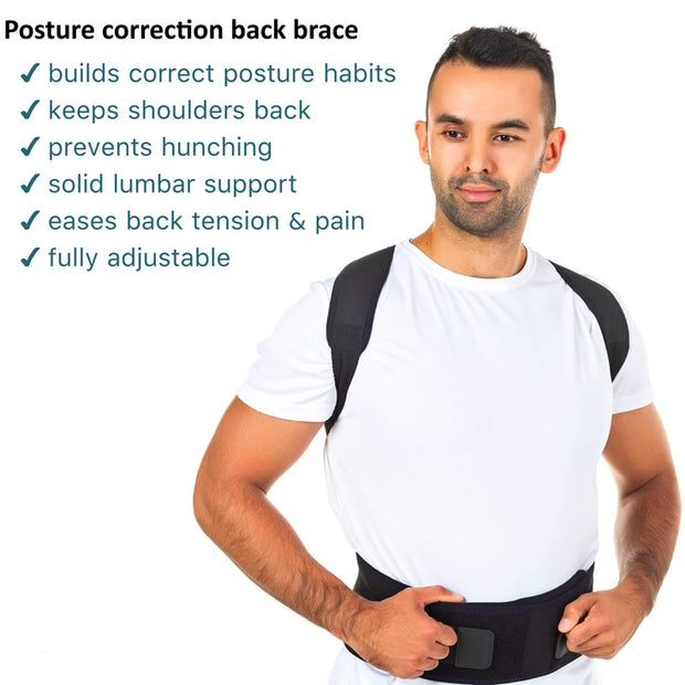 Magnetic Therapy Brace Shoulder & Back Support Belt - Smart Choice Gears