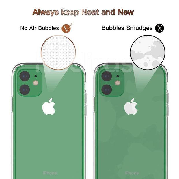 Transparent Silicone Case for iPhone 11 - Smart Choice Gears