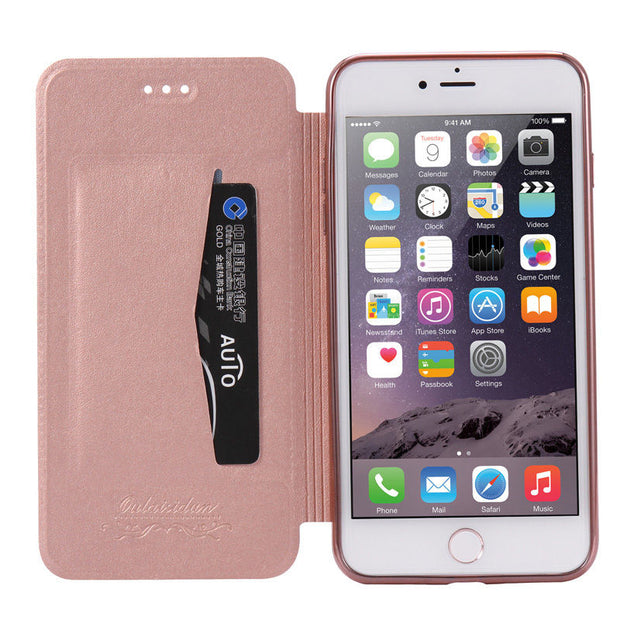Luxury Leather Wallet Phone Case For iPhone 11 - Smart Choice Gears