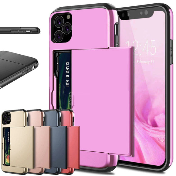 Armor Card Slots Case for iPhone 11 - Smart Choice Gears