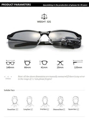 Intelligent Color-Changing  Sunglasses - Smart Choice Gears