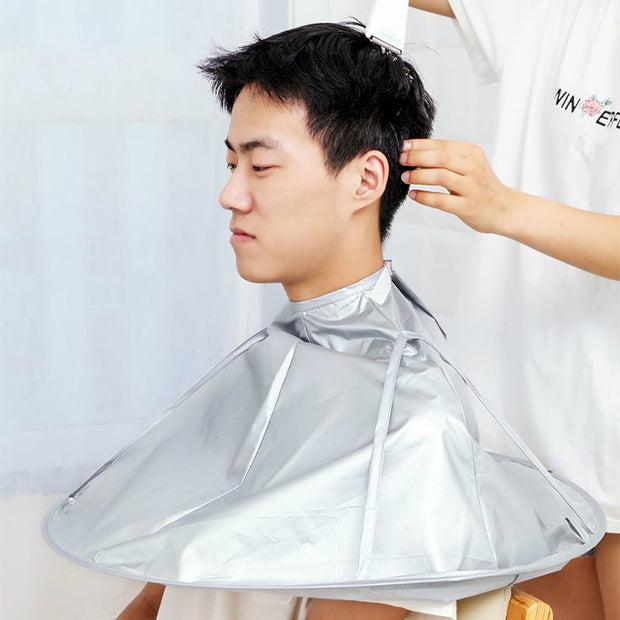 Foldable Barber Cloak for HairCutting - Smart Choice Gears