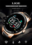 Luxury Ceramic Intelligent Smartwatch - Smart Choice Gears