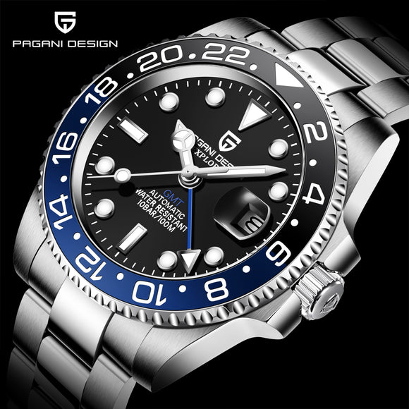 Luxury Sapphire Glass Men Watches