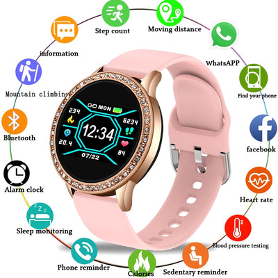 Noble Diamond Smart Watch