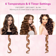 Premium Ceramic Hair Curler with LCD Display - Automatic Hair Curler - Smart Choice Gears