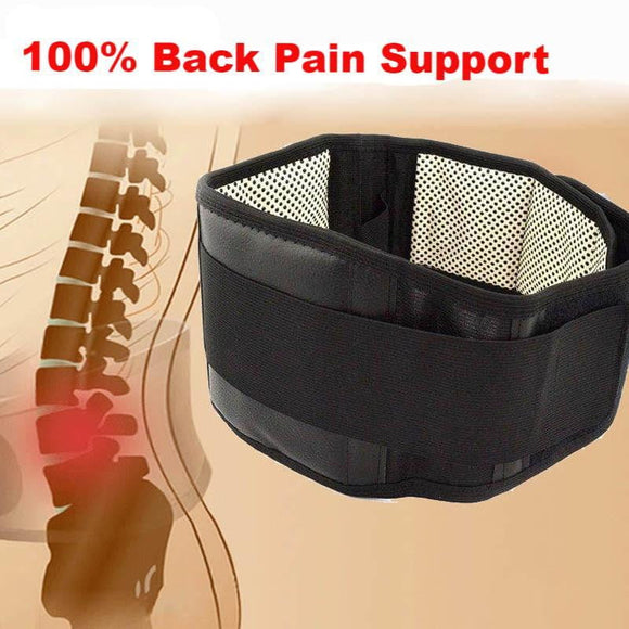 Self-heating Magnetic Therapy Back Waist Support Belt - My Gadgetsin
