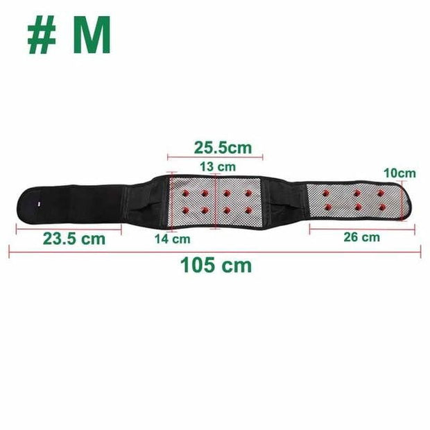 Self-heating Magnetic Therapy Back Support Belt - Smart Choice Gears