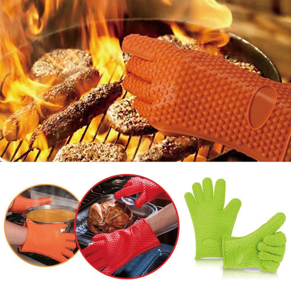 Multifunction Silicone Heat Resistant Glove - Smart Choice Gears