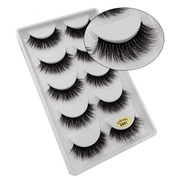 5 Pairs 3D Mink Lashes - Smart Choice Gears