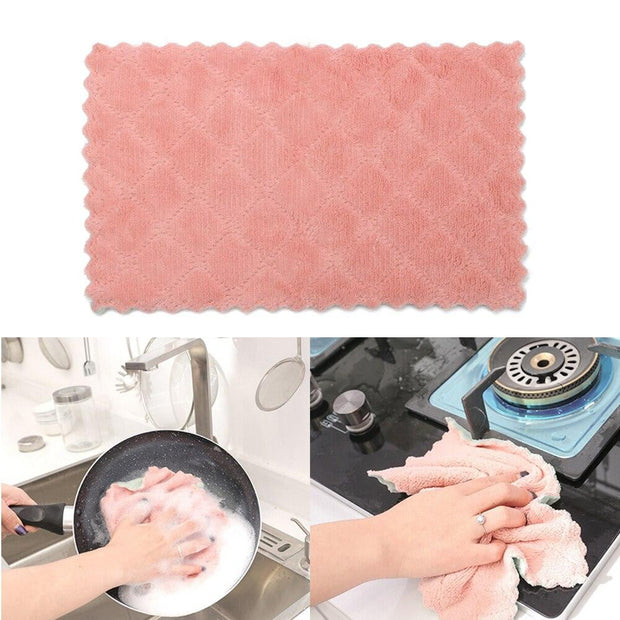 Microfiber Kitchen Cleaning Cloth - Smart Choice Gears
