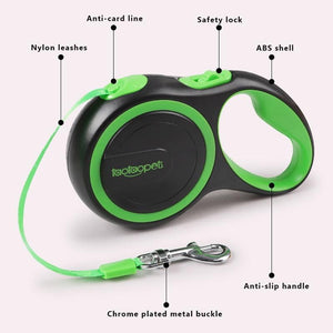 Automatic Retractable Pet Leashes - Smart Choice Gears