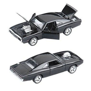 Dodge Charger Diecast Metal - Black - Brinquedos