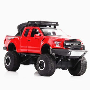 F150 Pickup truck Ford Raptor escala 1:32 - Red - Brinquedos
