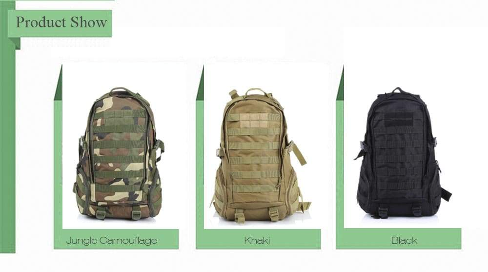 BL028 35L Climbing Hiking Military Backpack Tactical Bag