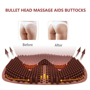 BumCloud™ - Premium Silicon Seat Cushion for Comfort, Massage, Pain Relief (Indoor & Outdoor)