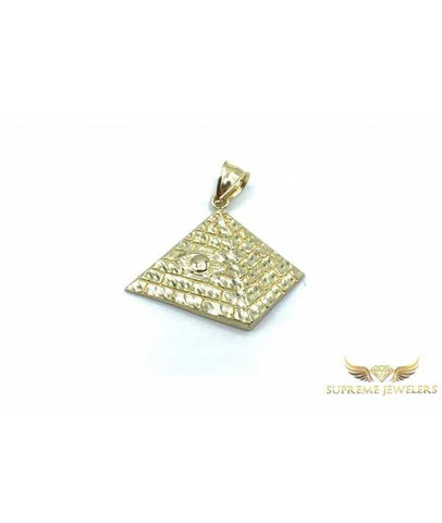 10K Gold All Seeing Eye Pyramid