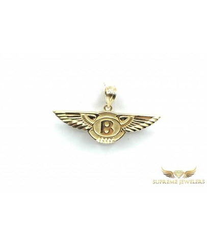 10K Gold Bentley Pendant