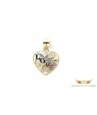 "10K Gold ""LOVE"" Pendant"