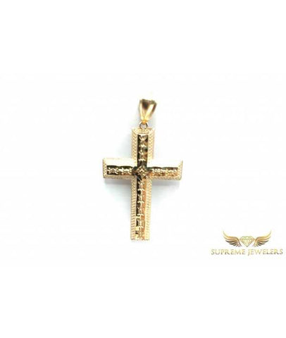    10K Gold Starcut Cross
