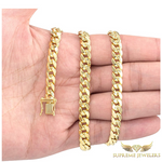 6.5mm 10K Gold Miami Cuban Link (Hollow)