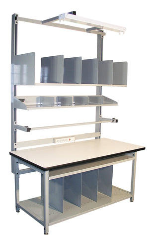 shipping workstation and workbench