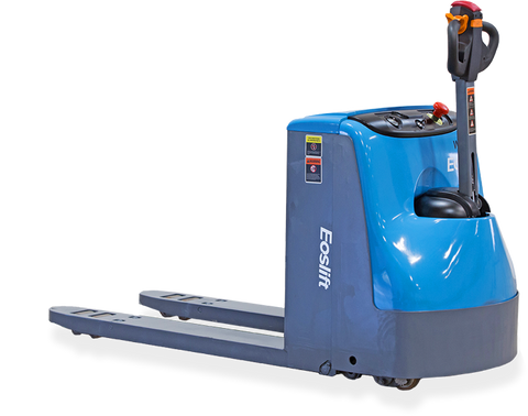 Electric walkie pallet truck
