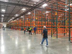 Largest supplier of pallet racking in Southern California