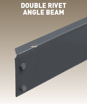 Heavy Duty Rivet Shelving Beams