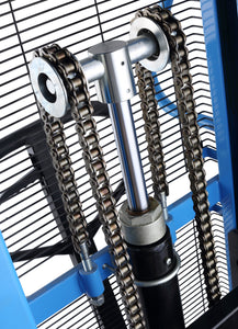 Manual pallet stacker lift chains