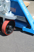 Load image into Gallery viewer, Hand Pallet jack wheels and hydraulic pump - for sale