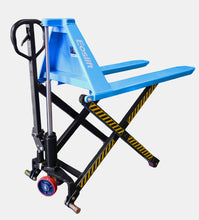 Load image into Gallery viewer, Manual pallet jack with extra lift - top view