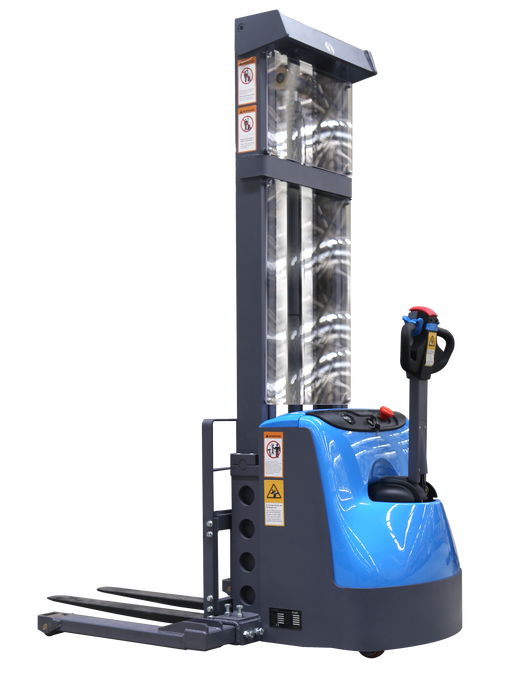 Affordable electric stacker
