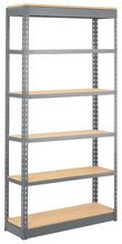 "Load image into Gallery viewer, Particle Board 18""x48""x5/8"" for Rivet Shelving"